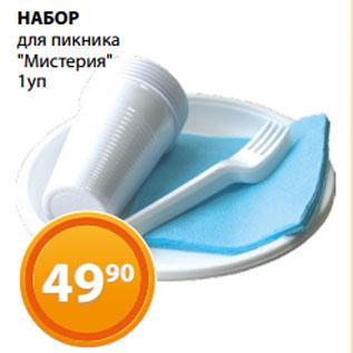 """Акция - НАБОР  для пикника  """"Мистерия"""""""