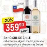 ВинO SOL DE CHILE