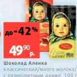 Виктория Акции - Шоколад Аленка