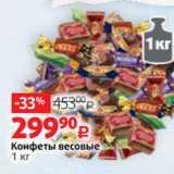 Скидка: Конфеты весовые 1 кг