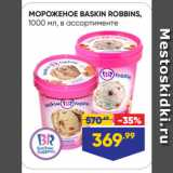 Лента Акции - МОРОЖЕНОЕ BASKIN ROBBINS