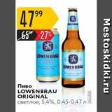 Карусель Акции - Пиво LOWENBRAU ORIGINAL