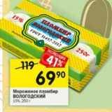 Мороженое пломбир Вологодский 15%