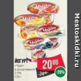Йогурт «Чудо» в ассортименте 2.5% 125 г