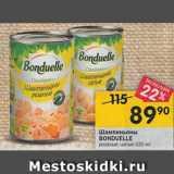 Магазин:Перекрёсток,Скидка:Шампиньоны Bonduelle