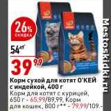 Магазин:Окей супермаркет,Скидка:Корм для котят Окей