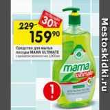 Перекрёсток Акции - Средства для посуды Mama ultimate