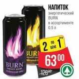 Скидка: НАПИТОК энергетический BURN