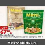 Виктория Акции - Мюсли Матти