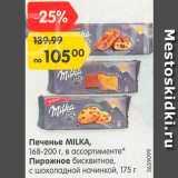 Карусель Акции - Печенье/пирожное Milka