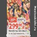 Виктория Акции - Конфеты весовые в ассортименте, 1 кг