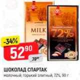Верный Акции - Шоколад Спартак