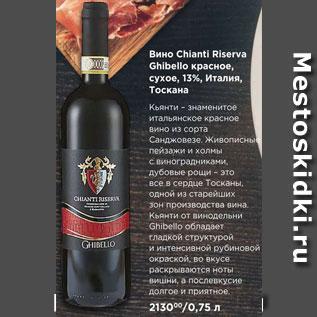 Акция - вино Chianti Riserva