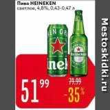 Карусель Акции - Пиво НЕINEKEN