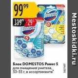 Карусель Акции - Блок DOMESTOS Power 5