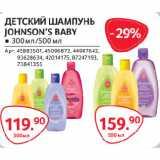 Магазин:Selgros,Скидка:ДЕТСКИЙ ШАМПУНЬ JOHNSON'S BABY