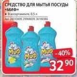 Магазин:Selgros,Скидка:СРЕДСТВО ДЛЯ Мытья ПОСУДЫ «МИФ»