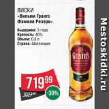 "Скидка: Виски ""Грантс"""