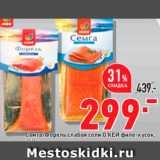 Магазин:Окей супермаркет,Скидка:Семга/форель Окей