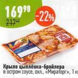 Магазин:Алми,Скидка:Крыло цыпленка-бройлера Мираторг