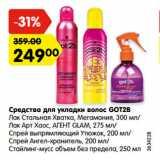 Карусель Акции - Средства для укладки волос GOT2B