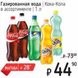 Газированная вода Кока-Кола
