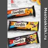 Скидка: Батончик Смартбар Протеин банан в темной глазури/ двойной шоколад в темной глазури/абрикос в йогуртовой глазури, 40 г