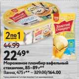 Магазин:Окей супермаркет,Скидка:Мороженое пломбир вафельный стаканчик