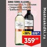 Скидка: Вино Terre Allegre
