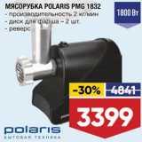 Лента Акции - Мясорубка Polaris