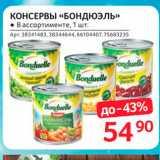 Магазин:Selgros,Скидка:КОНСЕРВЫ «БОндюэль»